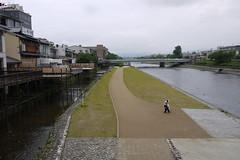 Kyoto Kamo River Sanjo