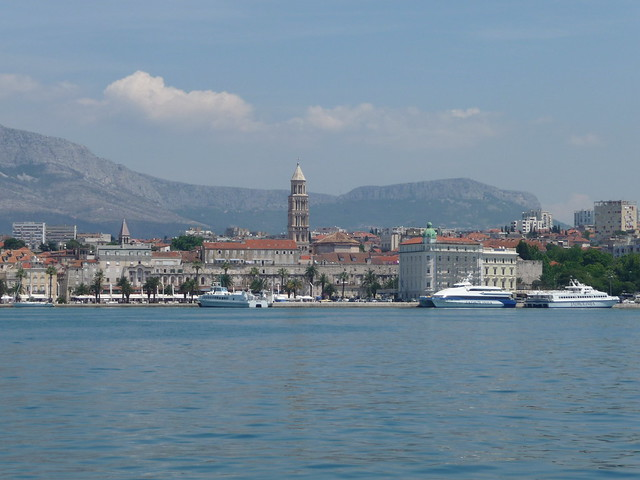 Split (The view from the harbour)