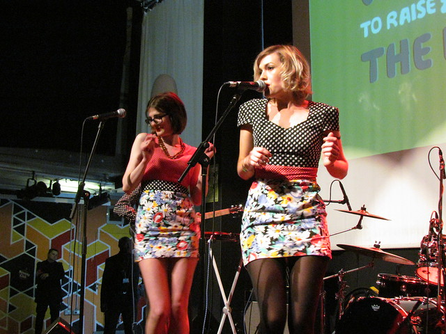 The Pipettes perform at The Big Mix