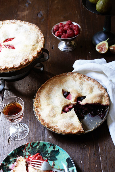 4 Homebeautiful-Blueberry Apple Pie Summer Idea