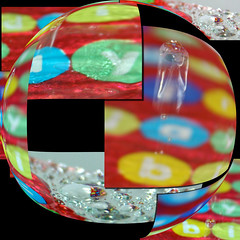ball drops (jodi_tripp) Tags: birthday water paper colorful action digitalart images drop sphere multiple merged joditripp wwwjoditrippcom photographybyjodtripp