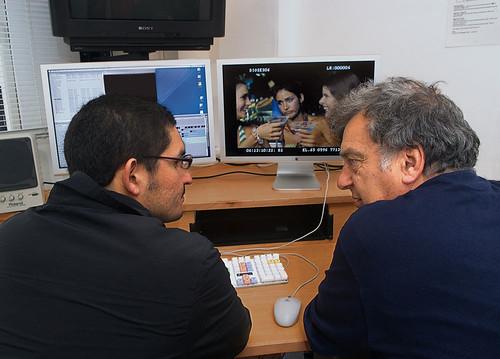 Josué Méndez y Stephen Frears