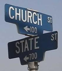 church,state