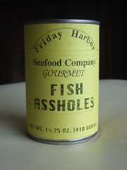 fish assholes (janetgalore) Tags: food fish can canned assholes