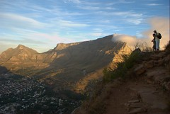 Table mountain from Lions head - Post