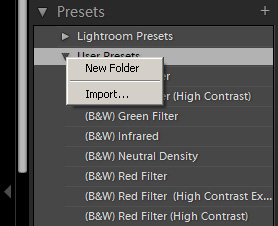 Import Lightroom