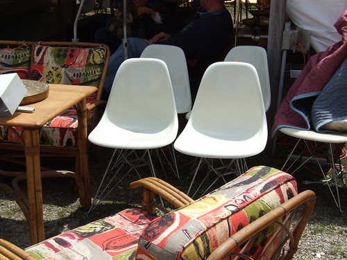 1 of several sets of Eames chairs