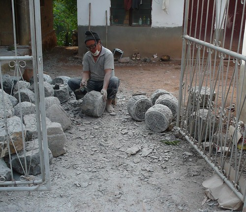 making stone moulds