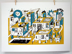 (FRM_) Tags: city illustration print graphic machine silkscreen form frmkid