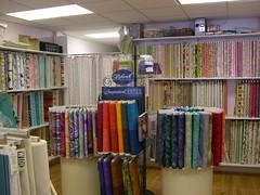 Fabric inside Lavender & Peonies