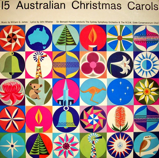 'Fifteen Australian Christmas Carols'. Details unknown.