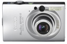 Canon PowerShot SD1100IS 8MP Digital Camera with 3x Optical Image Stabilized Zoom