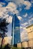 The Transparent Skyscraper (wenzday01) Tags: travel blue sky reflection building tower topv111 boston architecture clouds skyscraper d50 square ma topv333 nikon day massachusetts topc50 bluesky nikond50 clear adobe hancock nikkor copley hancocktower copleysquare lightroom insidelightroom hannesplittone cotcbestof2008 18105mmf3556gedafsvrdx