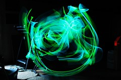 Alien Portal (CGK Photography (Discontinued)) Tags: longexposure blue light green canon rebel lights glow streak alien portal streaks vob backup2012