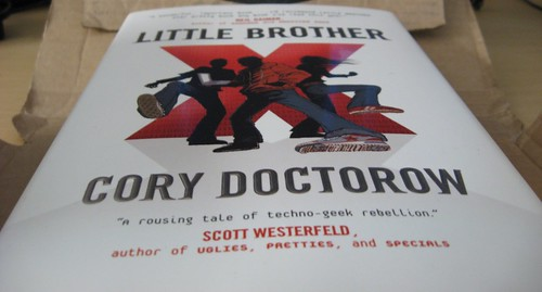 My copy of Little Brother