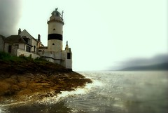 Costal treasure (Nicolas Valentin) Tags: sea lighthouse scotland riverclyde scenery inverclyde cloch clochlighthouse mywinners