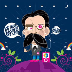 Friedrich Nietzsche (francescoporoli) Tags: illustration illustrator friedrichnietzsche vektor poroli francescoporoli