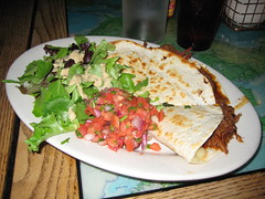 Carne & Jack Cheese Quesadillas at Golden West Cafe