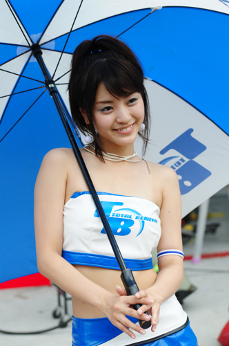 Race Queen -- Super GT, Sepang, 2008