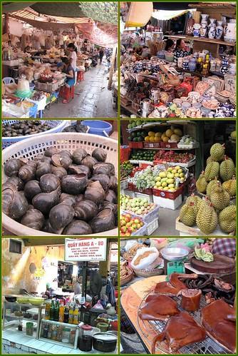 scenes from Pho Gia Ngu market, Hanoi