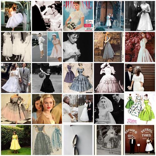 VintageStyle Wedding Dresses Audrey Hepburn McCall 39s Vintage wedding