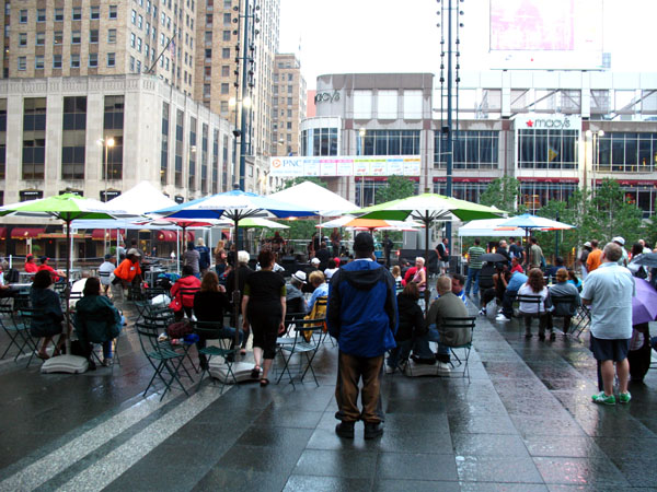 4th of July on Fountain Square