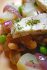 warm swordfish salad©