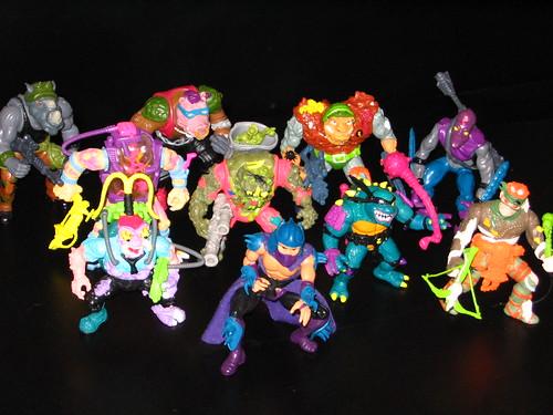 TMNT villains