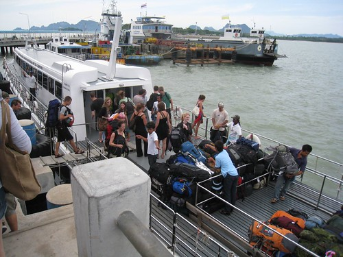 Ferry to Kho Samui