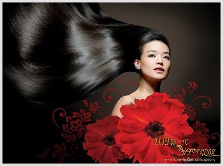 Shu Qi Lux Peony Wallpaper