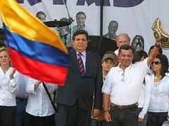 Presidente Garcia en marcha julio 2008
