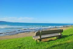 Gold Class view at Lorne, Australia (Harshit Sekhon) Tags: australia beach bench nikon d80 lorne utata primacognosportfolio