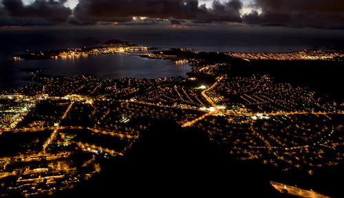 night over Kaneohe Bay