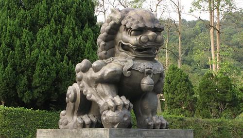 台北故宮獅子