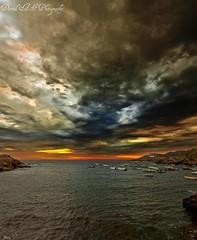amanecer (david A.F Photography) Tags: clouds sunrise girona amanecer costabrava portdelaselva nuves sigma1020mm empordá canoneos40d davidafphotography capddecreus nuvold