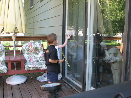 Window Cleaning: Fun for the whole family!