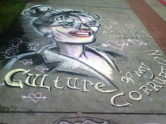 Sarah Palin in Chalk Most Popular Flickr Picture in Tacoma (Tacoma Urbanist) Tags: alaska sarah washington election downtown folkart tacoma 2008 vp palin sarahpalin chalkoff sarapalin sarapalinsexy sarahpalinalaska sarahpalinart sarapalinjuneau sarahpalinsexyphotos sarahpalinsexy sarapalinphoto sarahpalinphoto sarahpalinoprah