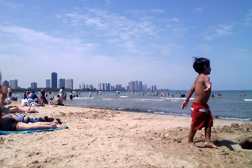 Summer at Montrose Ave. Beach