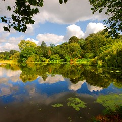 An English landscape (Ignacio Lizarraga) Tags: inglaterra summer england london reflections landscape paisaje nikond50 londres verano hampsteadheath reflejos zyber aplusphoto theperfectphotographer vanagram