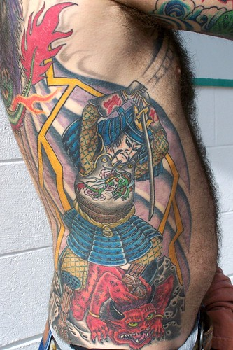 Picture of Samuri Warrior Tattoo