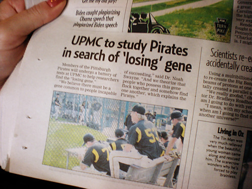 The Pirates contribution to science.