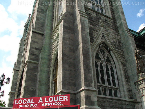 Church for Rent in Montreal, Canada