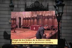 Preparant la sala... (Merc 2008) Tags: barcelona merce merc fotomerce fotomerc