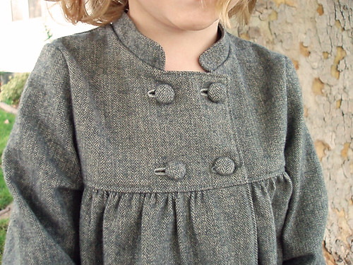 Sunday Brunch Jacket - Matching Cloth Covered Buttons