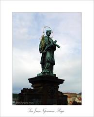 San Juan Nepomuceno (osolev) Tags: city bridge sculpture statue puente europa europe prague ciudad praha praga escultura most czechrepublic charlesbridge estatua santo imagen karluvmost republicacheca chequia puentedecarlos nepomuceno sanjuannepomuceno motifd a3b osolev