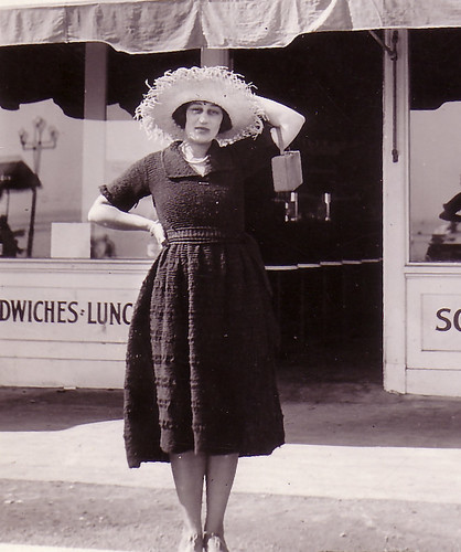 Rose Gruenberg in front of Boyer's Sweet Shop-2.jpg