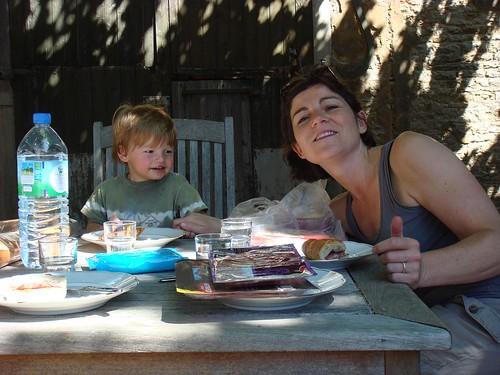 maman avec le fils