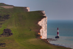 Suicide hotspot, Beachy Head, Sussex (**Anik Messier**) Tags: uk england lighthouse sussex searchthebest britain suicide cliffs shore coastline phare soe hdr beachyhead falaises supershot mywinners mywinner shieldofexcellence anawesomeshot suicidehotspot coastuk welcomeuk