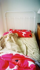 Unmade Single Bed (Mary Kathryn Arnold) Tags: labourday 2008