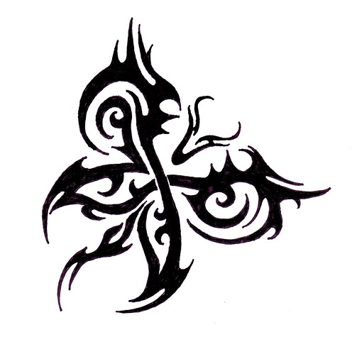 Tibetan Tattoo Design Sample 8
